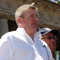 Senator Mitch Fifield … scholarship to travel to Israel. Photo: AJN file