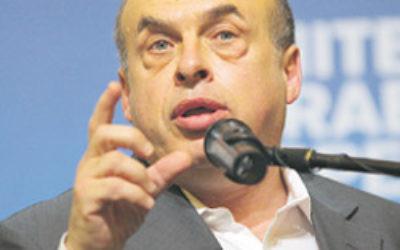 Natan Sharansky … new chairman of the Jewish Agency in Israel. Photo: AJN file