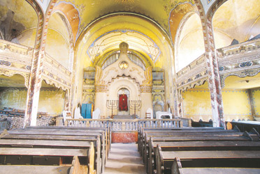 A photo of the Subotica Synagogue in Serbia from Jono David's global collection.  Photo by: Jono David