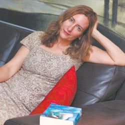 Author Tobsha Learner. Photo: Ingrid Shakenovsky