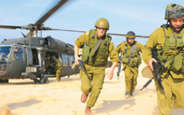 IDF forces during ground maneouvres in Gaza. Photo: AJN file