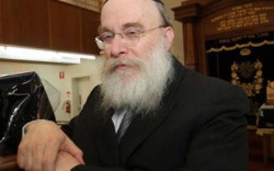 Rabbi Zvi Telsner. Photo: AJN file