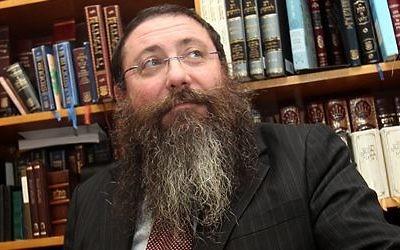 Rabbi Moshe Gutnick of the Sydney Beth DIn.