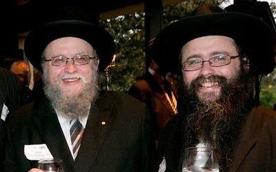 Rabbi Pinchus Feldman and Rabbi Yossi Feldman.