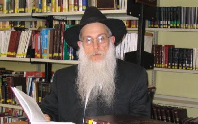 Rabbi Avrohom Glick.