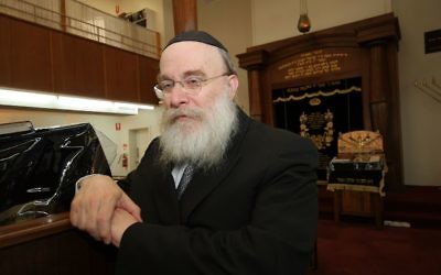 Rabbi Zvi Hirsch Telsner. Photo: AJN file