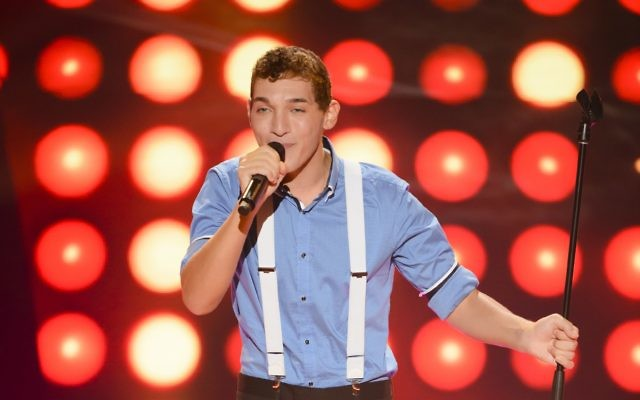 James Sieff on The Voice.