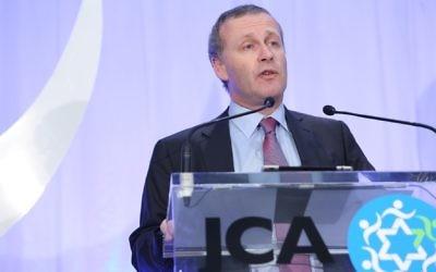 JCA vice-president Michael Graf.