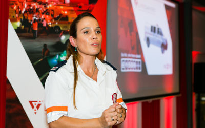 Ravit Martinez will speak about her experiences as an MDA paramedic at MDA NSW's major function.