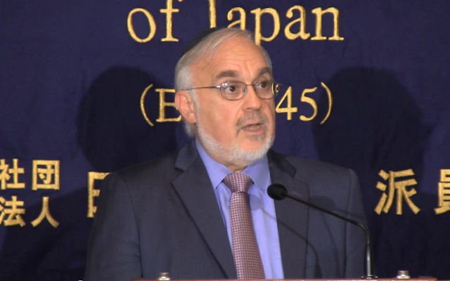Rabbi Abraham Cooper. (YouTube screenshot)