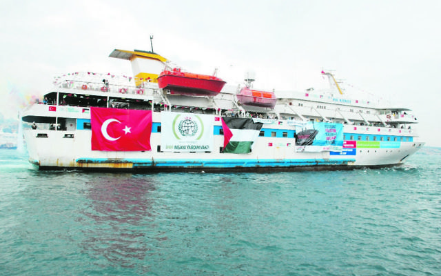 Clashes erupted between Israeli troops and activists on board the Mavi Marmara which was attempting to break the Gaza blockade. Photo: AJN File.