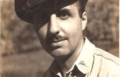 Perry Goldman travelled to Sydney in June 1943.