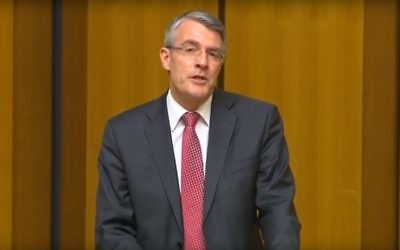 Mark Dreyfus speaking in Parliament.