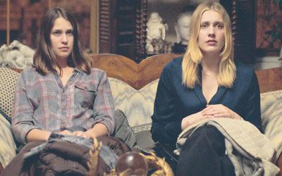 Lola Kirke (left) and Greta Gerwig in Mistress America.