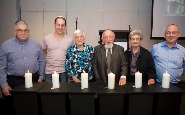 The late Dr Joachim Schneeweiss (third from right).