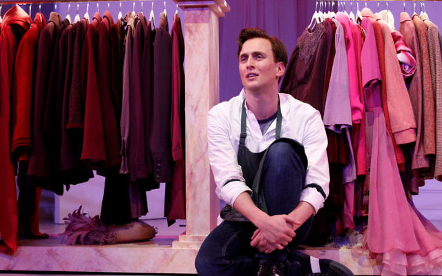 Ash Flanders stars in Buyer and Cellar. Photo: Jeff Busby