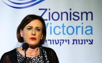 Zionism Victoria's new president Sharene Hambur. Photo: Peter Haskin