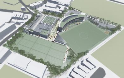A 3D rendering of how Hakoah White City will look.