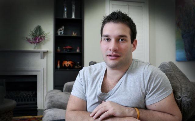 Adam Schwartz at his Dover Heights home. Photo: Noel Kessel