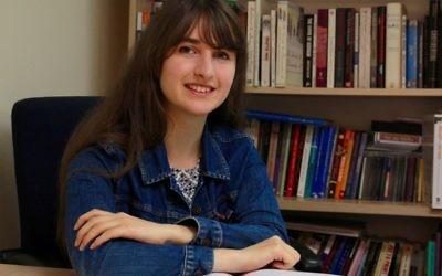 Natasha May. Photo: Gareth Narunsky.