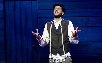 Lior in Fiddler on the Roof. Photo: Jeff Busby