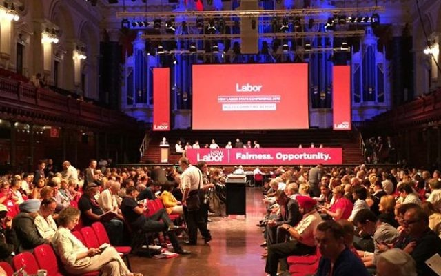 The NSW Labor state conference last weekend.