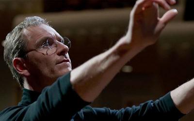Michael Fassbender stars as visionary Apple co-founder Steve Jobs in the film Steve Jobs.