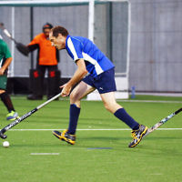 29-2-16. Maccabi Hockey veterans defeated Power House 3-2 in the Summer season grand final. Gary Beville. Photo: Peter Haskin