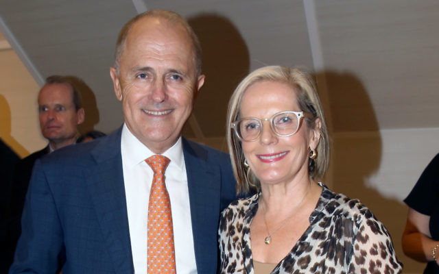 Malcolm and Lucy Turnbull.