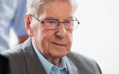 Auschwitz guard Reinhold Hanning