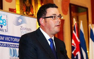 Victorian Premier Daniel Andrews.