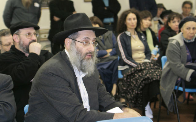 Former South Head Synagogue spiritual leader Rabbi Benzion Milecki.