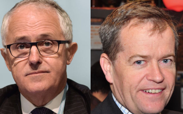 Malcolm Turnbull and Bill Shorten are wishing the community a happy Chanukah.