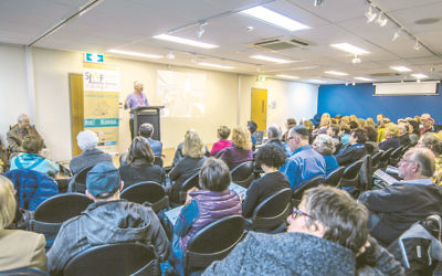 A packed session at last year's Sydney Jewish Writers' Festival.