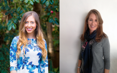 Rebecca Brown (left) and Nikki Vernon are headed to Israel for the International Fashion Delegation