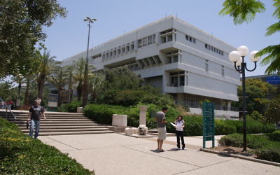 The delegates visited Hadassah's Cardiovascular Research Centre, the Weizmann Institute of Science, Tel Aviv University (pictured), the Cardiovascular Research Labs at the Sheba Centre, and researchers at the Technion.