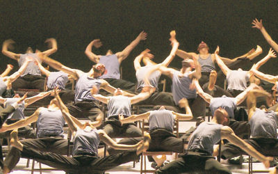 Batsheva Dance Company dancers test the boundaries on stage.