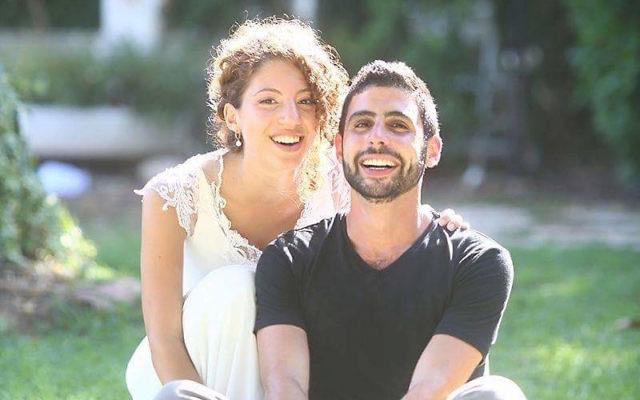 Rotem Dvir (left) and Raz Sofer have arrived in Canberra.