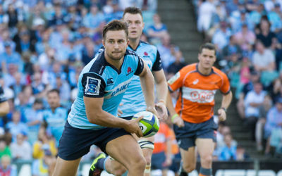 David Horwitz playing for the NSW Waratahs. Photo: Ben Holgate/Waratahs Rugby.
