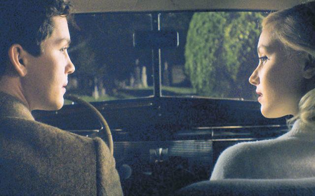 Logan Lerman and Sarah Gadon in Indignation.
