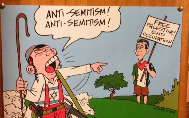 One of the cartoons reportedly seen on the office door of University of New England lecturer Professor Thomas Fudge.