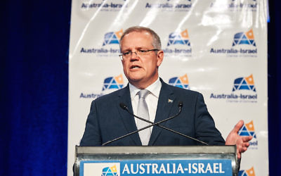 Prime Minister Scott Morrison. Photo: Peter Haskin