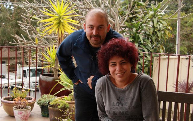 ZVDO Beit Halochem members Ohad Roisblatt and Shiri Mirvis in Sydney. Photo: Shane Desiatnik