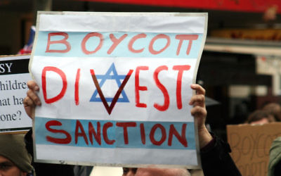A BDS demonstration in Australia.