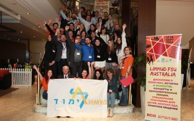 Some of the participants at last weekend's Limmud FSU in Manly.