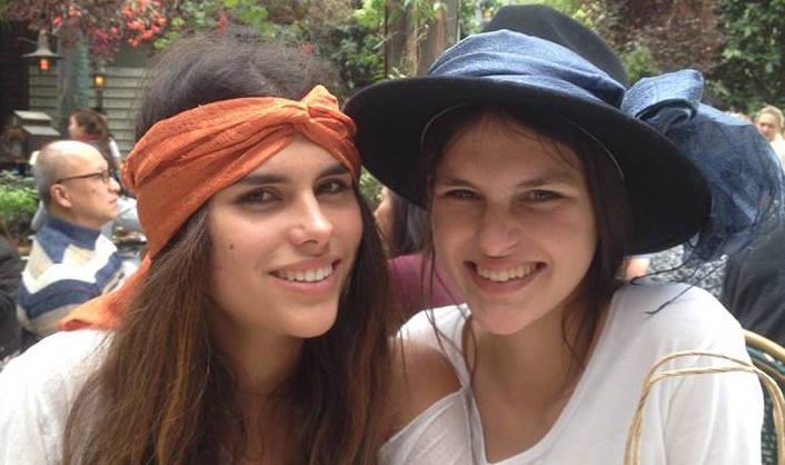 Sabine and her twin sister Nakisha.