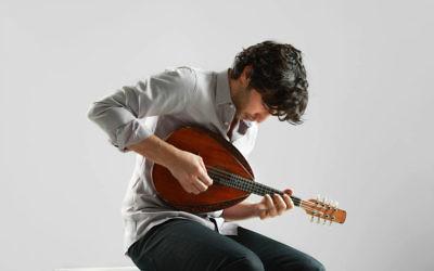 Israeli mandolin virtuoso Avi Avital.