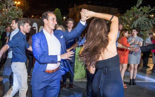 Dave Sharma at the Ozraeli Gala.