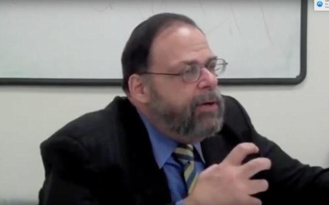 Rabbi Robert Kaplan.