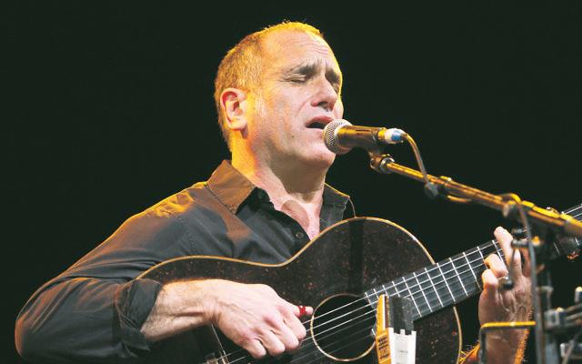 Israeli singer David Broza performing during his last Australian tour in 2012. Photo: AJN file/Peter Haskin